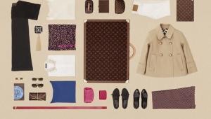Louis Vuitton: Kako spakovati torbu?