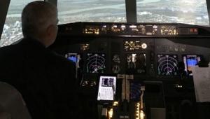 Na Aerodromu Nikola Tesla Beograd - simulator letenja!