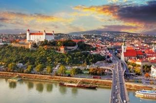 Bratislava - lepotica na obali Dunava