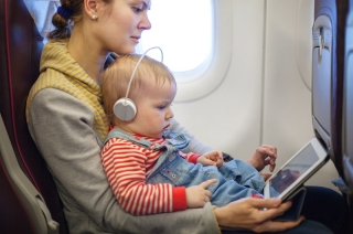 Za lakši let avionom sa decom