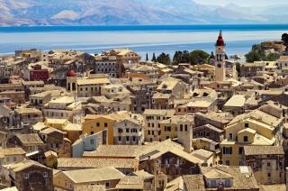 Krf - grčko ostrvo, turistička Meka